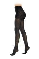 Sigvaris Styles Motifs Losanges Collant  Femme Classe 2 Noir Small Normal à THONON-LES-BAINS