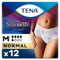 Tena Lady Silhouette Slip Absorbant Blanc Normal Médium Paquet/12 à THONON-LES-BAINS