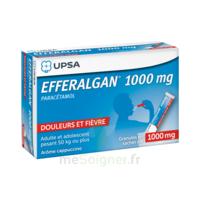 Efferalgan 1g Cappuccino Granules 8 Sachets à THONON-LES-BAINS
