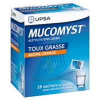 Mucomyst 200 Mg Poudre Pour Solution Buvable En Sachet B/18 à THONON-LES-BAINS