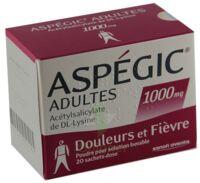 Aspegic Adultes 1000 Mg, Poudre Pour Solution Buvable En Sachet-dose 15 à THONON-LES-BAINS