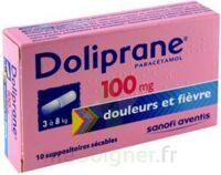 Doliprane 100 Mg Suppositoires Sécables 2plq/5 (10) à THONON-LES-BAINS