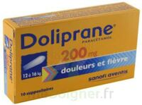Doliprane 200 Mg Suppositoires 2plq/5 (10) à THONON-LES-BAINS