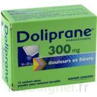 Doliprane 300 Mg Poudre Pour Solution Buvable En Sachet-dose B/12 à THONON-LES-BAINS