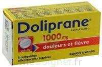 Doliprane 1000 Mg Comprimés Effervescents Sécables T/8 à THONON-LES-BAINS