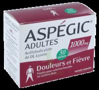 Aspegic Adultes 1000 Mg, Poudre Pour Solution Buvable En Sachet-dose 30 à THONON-LES-BAINS