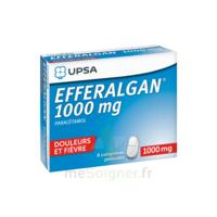 Efferalgan 1000 Mg Comprimés Pelliculés Plq/8 à THONON-LES-BAINS