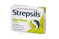 Strepsils Citron Sans Sucre, Pastille édulcorée à L'isomalt, Au Maltitol Et à La Saccharine Sodique à THONON-LES-BAINS