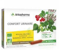 Arkofluide Bio Ultraextract Solution Buvable Confort Urinaire 20 Ampoules/10ml à THONON-LES-BAINS