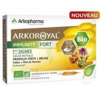 Arkoroyal Immunité Fort Solution Buvable 20 Ampoules/10ml à THONON-LES-BAINS