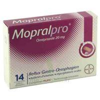 Mopralpro 20 Mg Cpr Gastro-rés Film/14 à THONON-LES-BAINS