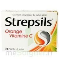 Strepsils Orange Vitamine C, Pastille à THONON-LES-BAINS