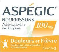 Aspegic Nourrissons 100 Mg, Poudre Pour Solution Buvable En Sachet-dose à THONON-LES-BAINS