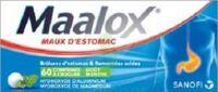 Maalox Hydroxyde D'aluminium/hydroxyde De Magnesium 400 Mg/400 Mg Cpr à Croquer Maux D'estomac Plq/60 à THONON-LES-BAINS