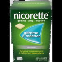 Nicorette 2 Mg Gom à Mâcher Médic Sans Sucre Menthe Fraîche Plq/105gom à THONON-LES-BAINS