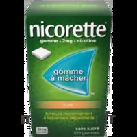 Nicorette 2 Mg Gomme à Mâcher Médicamenteuse Sans Sucre Fruits Plq/30 à THONON-LES-BAINS