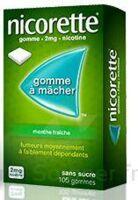 Nicorette 2 Mg Gom à Mâcher Médic Sans Sucre Menthe Fraîche Plq/30gom à THONON-LES-BAINS
