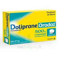 Dolipraneorodoz 500 Mg, Comprimé Orodispersible à THONON-LES-BAINS