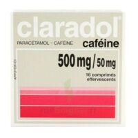 Claradol Cafeine 500 Mg/50 Mg, Comprimé Effervescent à THONON-LES-BAINS