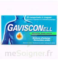 Gavisconell Coprimés à Croquer Sans Sucre Menthe édulcoré à L'aspartam Et à L'acésulfame Potas Plq/24 à THONON-LES-BAINS