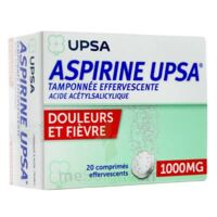 Aspirine Upsa Tamponnee Effervescente 1000 Mg, Comprimé Effervescent à THONON-LES-BAINS