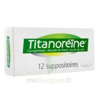 Titanoreine Suppositoires B/12 à THONON-LES-BAINS