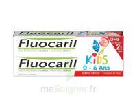 Fluocaril Kids Gel Dentifrice Fraise 0/6ans 2*50ml à THONON-LES-BAINS