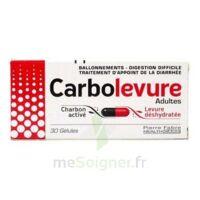 Carbolevure Gélules Adulte Plq/30 à THONON-LES-BAINS