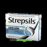 Strepsils Lidocaïne Pastilles Plq/24 à THONON-LES-BAINS