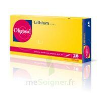 Oligosol Lithium Solution Buvable En Ampoule Ou En Récipient Unidose 28amp/2ml à THONON-LES-BAINS