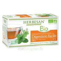 Herbesan Infusion Bio Tisane Digestion Facile 20 Sachets à THONON-LES-BAINS