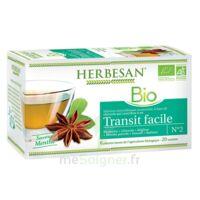 Herbesan Infusion Bio Tisane Transit Facile 20 Sachets à THONON-LES-BAINS