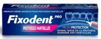 Fixodent Pro Crème Adhésive Pour Prothèse Partielle T/40g à THONON-LES-BAINS