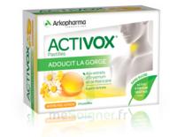 Activox Sans Sucre Pastilles Miel Citron B/24 à THONON-LES-BAINS