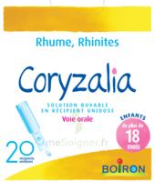 Boiron Coryzalia Solution Buvable Unidose B/20 à THONON-LES-BAINS