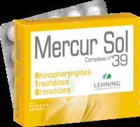 Lehning Mercur Sol Complexe N°39 Comprimés Sublinguals B/60 à THONON-LES-BAINS