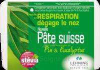 Lehning Pâte Suisse Pastilles à Sucer Pin Eucalyptus B/50g à THONON-LES-BAINS