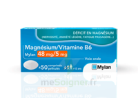Magnesium/vitamine B6 Mylan 48 Mg/5 Mg, Comprimé Pelliculé à THONON-LES-BAINS