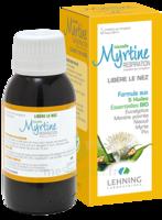 Lehning Myrtine Inhalante Solution D'inhalation Aux 5 Huiles Essentielles Bio 100ml à THONON-LES-BAINS
